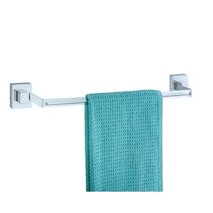 Wenko Vacuum Loc Quadro Towel Rail Holder