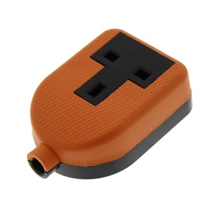 1 Gang Orange Heavy Duty Socket: Status