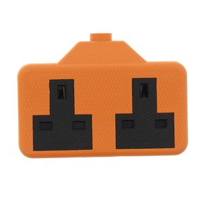 2 Gang Orange Rubber Socket: Status