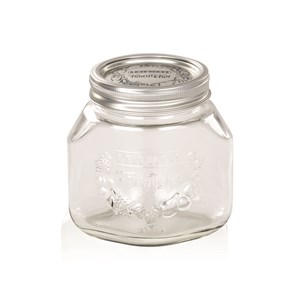 Leifheit 750ml Glass Preserving Jars With Lid