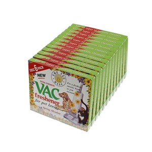 Vacuum Cleaner Fresheners Spring Meadow Pack of 12