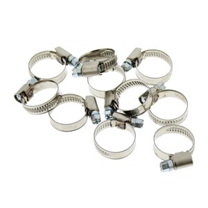Hose Band Clip: 16-25mm Pack of 10