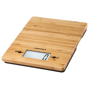 Soehnle Bamboo Digital Kitchen Weighing Scales