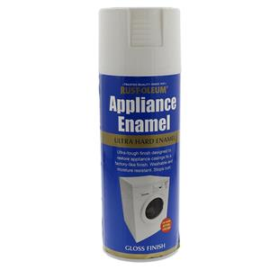 Appliance Enamel: White Gloss 400ml