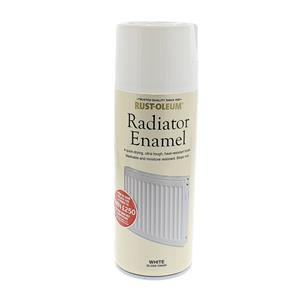 Radiator Enamel: White Gloss 400ml