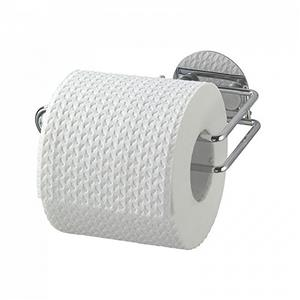 Wenko Turbo Loc Toilet Paper Holder Chrome Finish