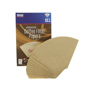 Unifit Size 4 Coffee Filter Papers Pack of 40