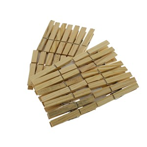 Wooden Clothes Pegs Pack of 30