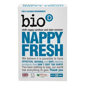 Bio D Nappy Fresh Sanitiser and Stain Remover 500g