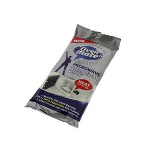 Oven Mate Microwave Steam Wipes Pack of 25