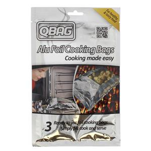 Q Bag Cooking Bag 210x300mm Pack of 3