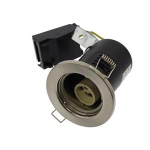 IP20 Fire Rated Downlight Satin Nickel