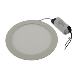 LED Panel Light Round 225mm x 12mm 18W Warm Light 3000K