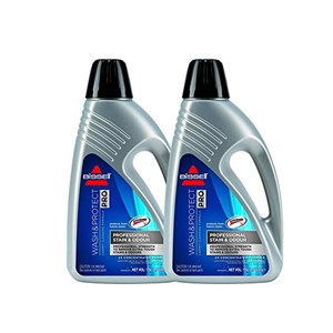 Bissell Wash & Protect 2 x 1.5 Litre Pack of 2