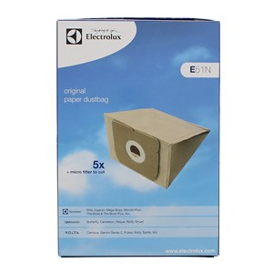 Aeg Electrolux E51 GR5 Vacuum Cleaner Bags Pack of 5