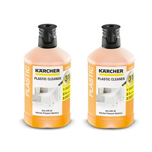 Karcher Plastic Cleaner Concentrate 6.295-758.0 pack Of 2