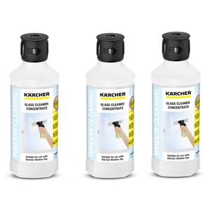 Karcher Glass Cleaner Concentrate 6.295-795.0 Pack Of 3