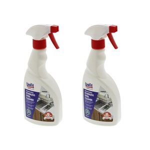 Unifit Professional Stainless Steel Cleaner 500ml Pack of 2