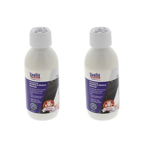 Unifit Professional Adhesive & Residue Sticky Stuff Remover 250ml Pack Of 2