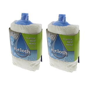 E-cloth Classic Mop Head Twin Pack