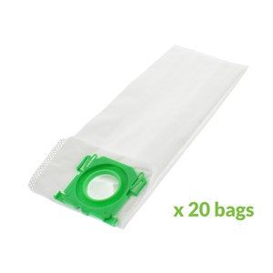 Sebo Airbelt C Automatic X1 X4 X5 Vacuum Cleaner Bags Pack of 20
