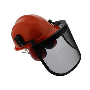 Chainsaw Safety Helmet with Visor & Ear Defenders