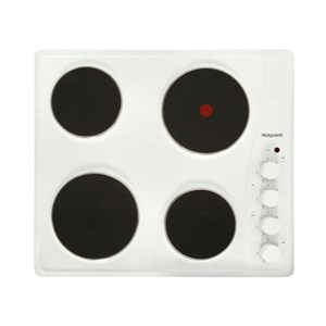 Hotpoint E6041W 60cm Solid Plate Electric Hob
