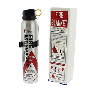 EI Fire Extinguisher & Blanket