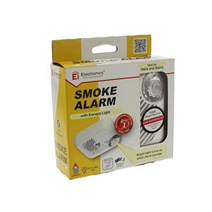 EI Smoke Alarm With Escape Light
