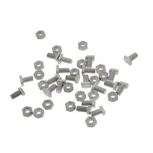 Cropped Head Bolts & Nuts Pack of 20