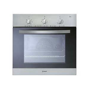 Indesit IFV5Y0IX Single Oven Electric Cooker