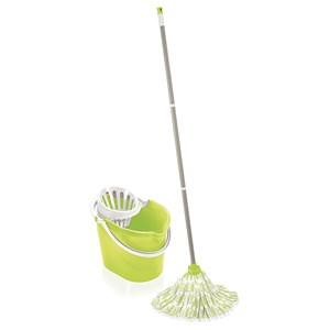 Leifheit Green Classic Mop and Bucket Set