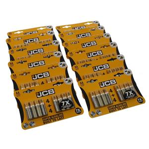Battery: AA: JCB Super Alkaline Pack of 4+4