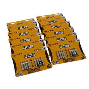 Battery: AAA: JCB Super Alkaline Pack of 4+4