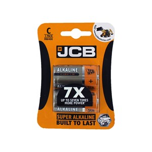 JCB Super Alkaline C Batteries 10 Packs Of 2