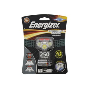 Energizer LED Vision Plus HD Focus 250 Lumen Headlight Head Torch